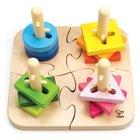 Hape - kreatives Steckpuzzle