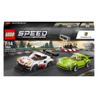 LEGO Speed Champions - 75888 Porsche 911 RSR und 911 Turbo 3.0