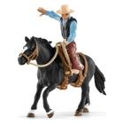 Schleich - 41416 Saddle Bronc Riding mit Cowboy