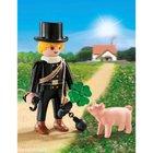 PLAYMOBIL - 9296 Schornsteinfeger mit Glücksschweinchen