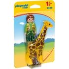 PLAYMOBIL - 9380 Tierpfleger mit Giraffe