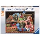 Ravensburger - Puzzle: Flauschiges Vergnügen, 500 Teile