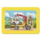 Ravensburger - My First Puzzles: Müllabfuhr, Krankenwagen, Abschleppwagen, 3x6 Teile