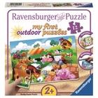 Ravensburger - My First Outdoor Puzzles: Liebe Bauernhoftiere, 12 Teile