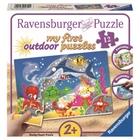Ravensburger - My First Outdoor Puzzles: Abenteuer unter Wasser, 12 Teile