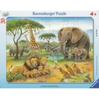 Ravensburger - Rahmenpuzzle: Afrikas Tierwelt