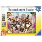 Ravensburger - XXL Puzzle: Lustiges Tierselfie, 150 Teile