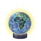 Ravensburger - 3D Puzzleball: Nachtlicht Erde bei Nacht, 72 Teile