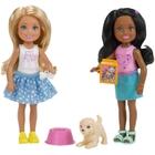 Barbie - Chelsea 2er-Pack Puppen & Zubehör, Gymnastik