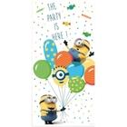 Minions Balloons - Türposter