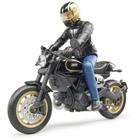 Bruder - Ducati Scrambler Café Racer mit Fahrer