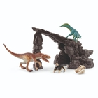 Schleich - 41461 Dinoset mit Höhle