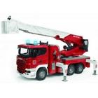 Bruder - Scania Feuerwehrleiterwagen mit Pumpe