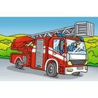 Ravensburger - Würfelpuzzle: Fahrzeuge im Einsatz, 6 Teile