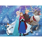 Ravensburger - XXL Puzzle: Disney Die Eiskönigin, Glitzernder Schnee, 100 Teile