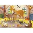 Ravensburger - Puzzle: Glückliche Tierfamilie, 2x12 Teile