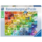 Ravensburger - Puzzle: 99 Beautiful Colors, 1500 Teile