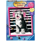 Ravensburger - Malen nach Zahlen: Singing Cat