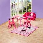 Minnie Mouse - Sitzgruppe 3-tlg.