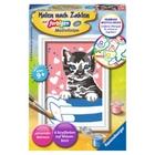 Ravensburger - Malen nach Zahlen: Kleines Kätzchen