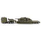 SIKU Super - 1872: Schwertransport mit Panzer, 1:87