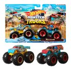 Hot Wheels - Monster Trucks 1:64, 2er-Pack, sortiert