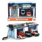 Dickie Toys - Rettungszentrum mit 3 Fahrzeugen