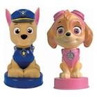 Paw Patrol - 3D Lampe blau/rosa, sortiert