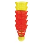 Badminton Speed Aerospeed Ersatzbälle, 6-tlg.