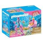 PLAYMOBIL - 70033 Starterpack: Seepferdchenkutsche