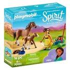 PLAYMOBIL - 70122 Pru mit Pferd und Fohlen