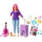 Barbie - Travel: Spielset Daisy mit Zubehör, sortiert (FWV26)
